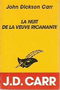 Achetez le livre d'occasion La nuit de la veuve ricanante de John Dickson Carr sur Livrenpoche.com